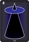 Blue, Reverse Cone