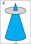 Cyan (Light Blue), Normal Cone